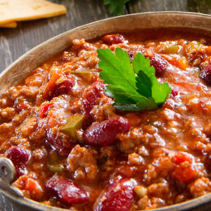 Slow and Smoky Pork Chili