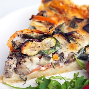Loaded Veggie Quiche