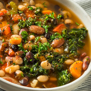 Hearty Ten Bean Soup