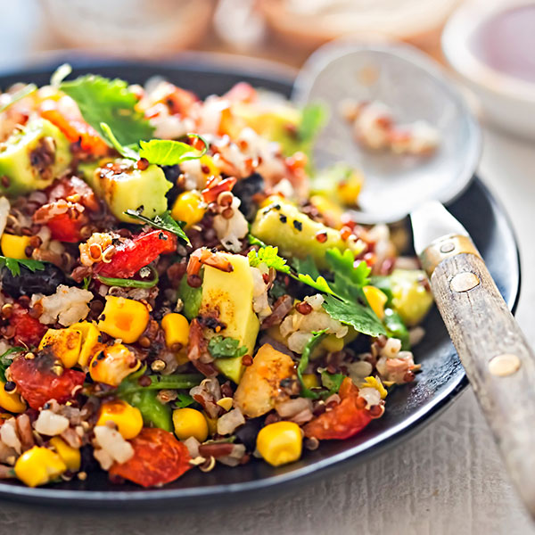 Zesty Mexican Quinoa Salad