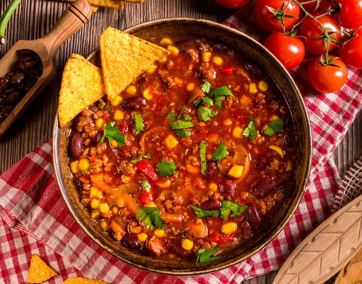 Zesty Veggie Chili